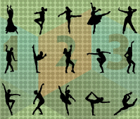 Dancer -silhouette-vector-cover-image les
