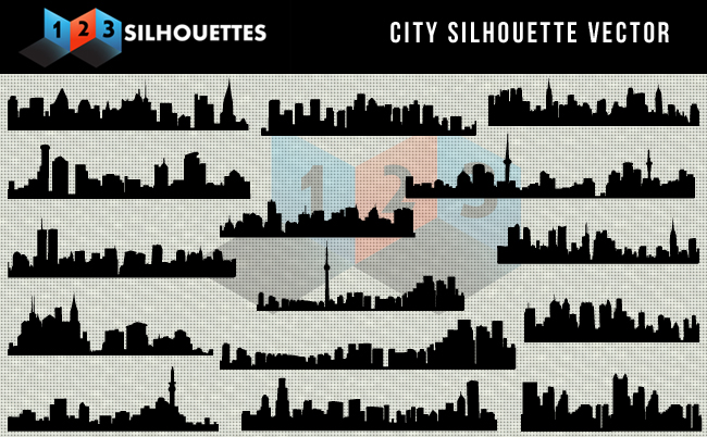 City Vector Silhouette