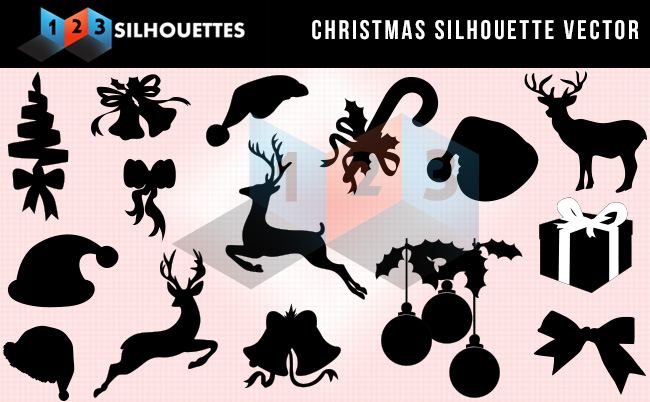 christmas Silhouette Vector