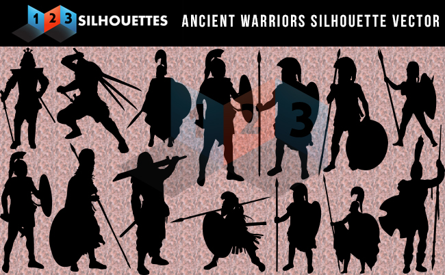 Ancient Warriors silhouette